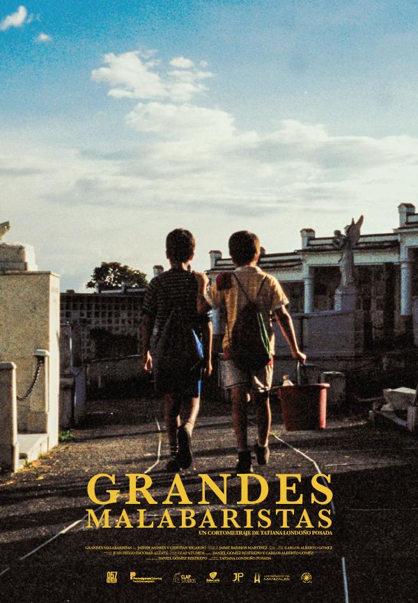 Poster oficial GRANDES MALABARISTAS